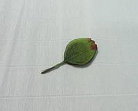 Листочки для декора-9, роза (пучок), крупные 10,5см