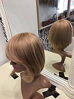 Парики из натуральных волос купить  мелирование, фото 1