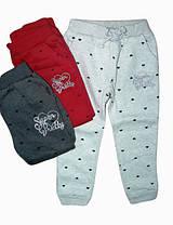 Утеплённые спортивные брюки для девочек Glo-story, размеры 98, арт. BRT-2876
