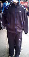Мужской спортивный костюм большого размера на байке