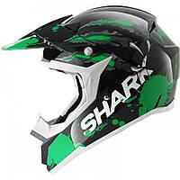 Мотошлем Shark SX2 Predator зеленый черный S
