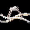Подвесной светильник Alclara Jasmine KI0022/11/02P