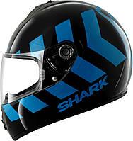 Мотошлем Shark S600 Pinlock No Panic черный синий L