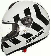 Мотошлем Shark S600 Pinlock No Panic белый черный XL
