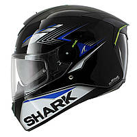 Мотошлем Shark Skwal Matador black blue черно синий, L