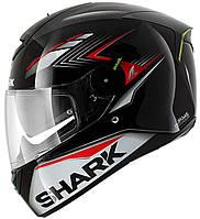 Мотошлем Shark Skwal Matador black red  черно красный, L