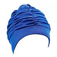 Женская шапочка для плавания BECO синий 7610 6