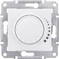 Диммер поворотно-нажимной емкостный 25-325 Вт Schneider Electric Sedna Белый SDN2200721