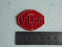 Аппликация  однотонная термоклеевая  VILAN 10 шт.(уп.)