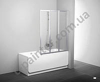 Шторка для ванны RAVAK (РАВАК)  VS3-115 Белый+Transp 795S0100Z1