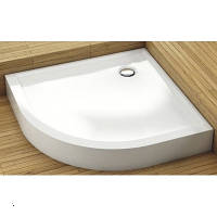 Полукруглый мелкий поддон с панелью, 90х90 см Aquaform (Акваформ) PLUS 550 200-06918