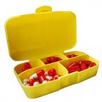 Таблетница Pill Box Желтый