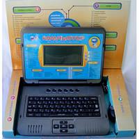 Детский ноутбук 7072 русский+англ. , есть USB, мышка, наушники от сети и батареек