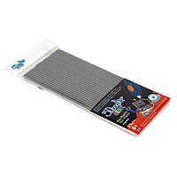 Набор стержней для 3D-ручки 3Doodler Start - серый, 24 шт (3DS-ECO08-GREY-24), фото 1