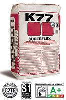 """Клей для плитки """"Superflex K77"""" Litokol, 25кг (белый)"""