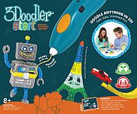 3D-ручка для детского творчества КРЕАТИВ 3Doodler Start - 48 стержней (3DS-ESST-E-R)