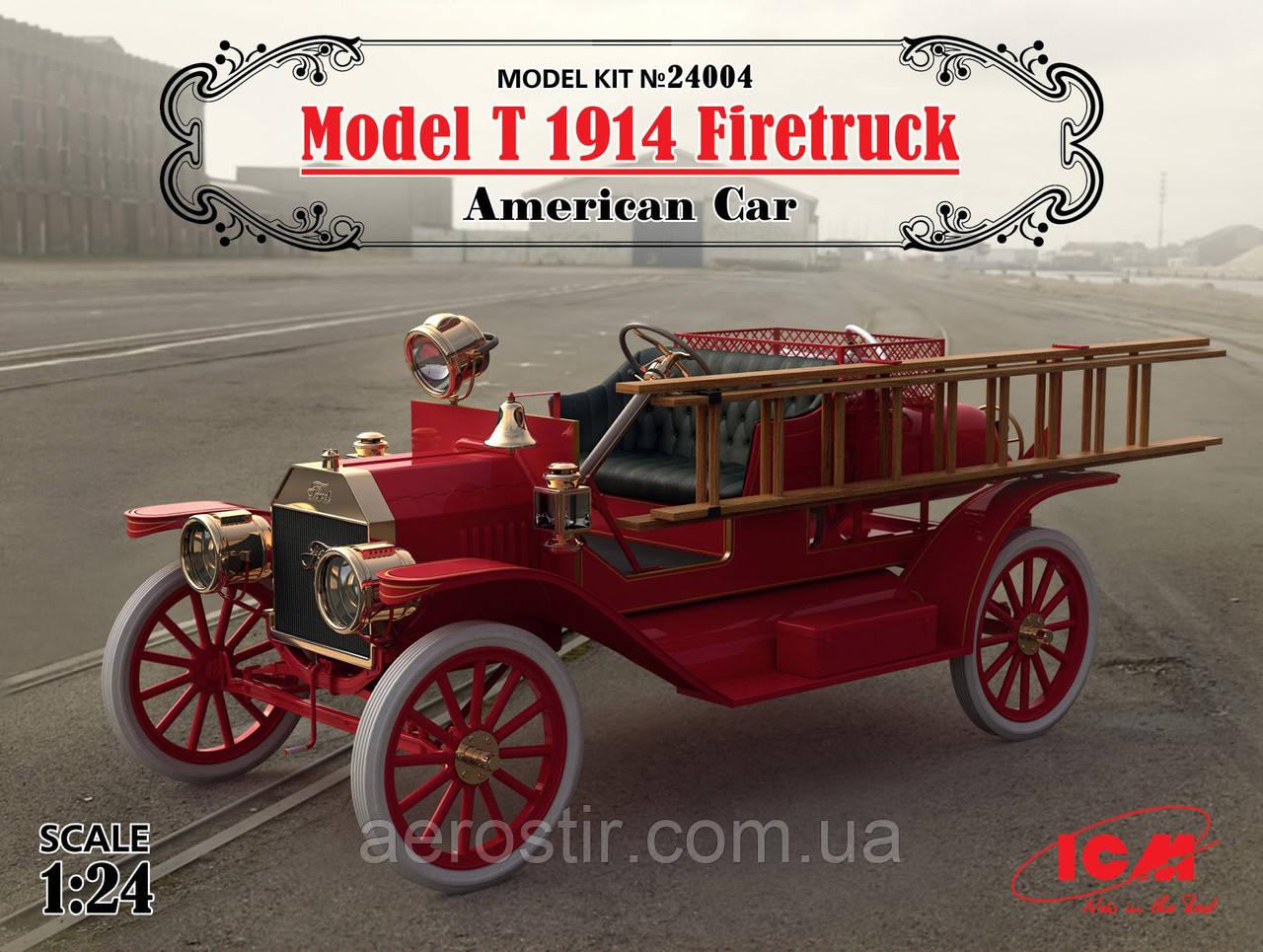 Model T 1914 Firetruek 1/24 ICM 24004
