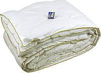 Шерстяное стеганое одеяло 140х205 теплое (тик батистовый)