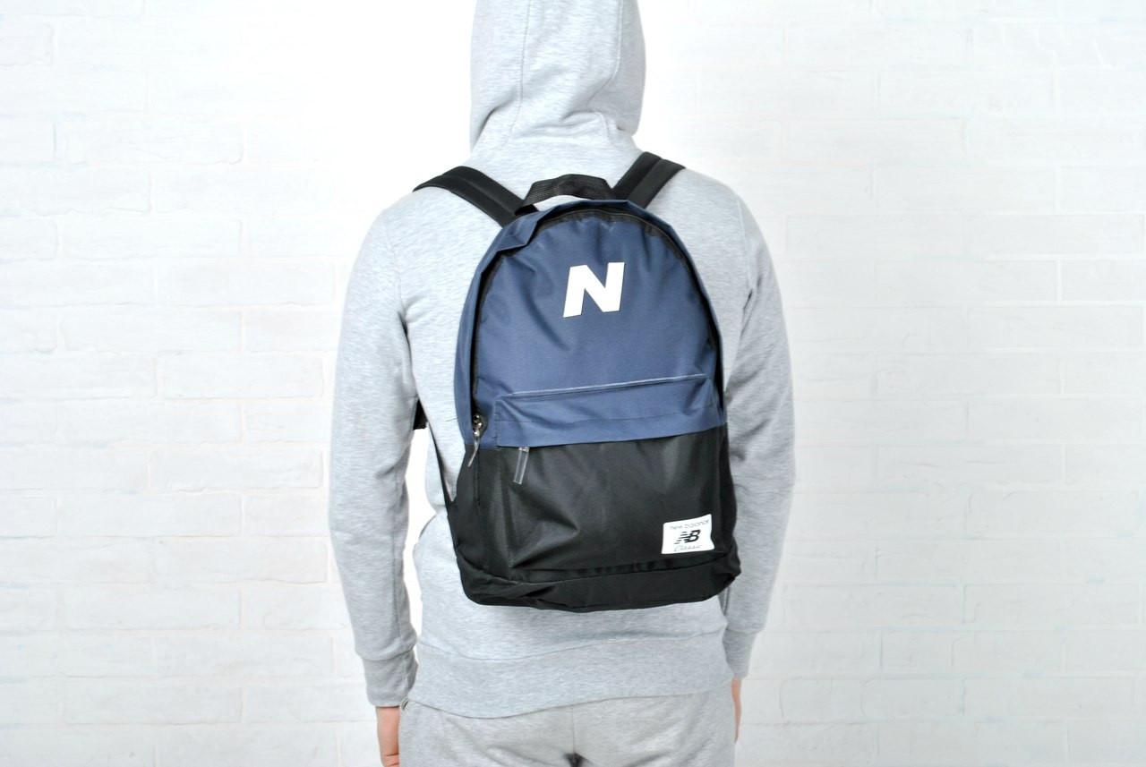 Спортивный городской рюкзак нью бэланс (New balance) реплика -