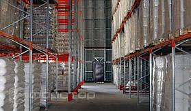 Для оптимального проезда складской техники предусмотрено 5 арочных проездов.