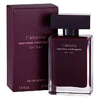 Женская парфюмированная вода Narciso Rodriguez L'Absolu For Her (Нарцисо Родригез Эль Абсолю)