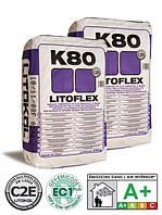 """Клей для плитки """"Litoflex K80"""" Litokol, 25кг (белый)"""