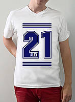 "Мужская футболка ""21 Alex"""