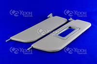 Козырек солнцезащитный ВАЗ 2103, 2106 ( жесткий с зеркалом, компл. 2 шт) ДЭЛ