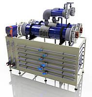 Электролизная установка для получения гипохлорита натрия 104 кг/сут, фото 1