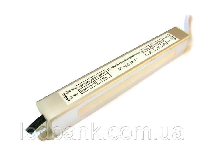 Блок питания герметичный 12В 18 Вт MTK-18-12