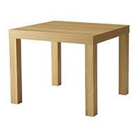 ЛАКК ИКЕА Придиванный столик беленый дуб