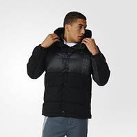 Теплый зимний пуховик с капюшоном adidas ID96 Wool AY9128