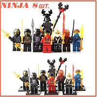НИНДЗЯГО фигурки популярного мультика Игрушки NinjaGo Аналог LEGO