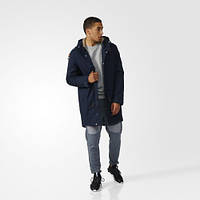 Парка зимняя для мужчин с капюшоном Adidas Originals Quilted AY9138