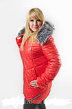 Женская куртка на холлофайбере батал, фото 6