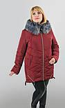 Женская куртка на холлофайбере батал, фото 7