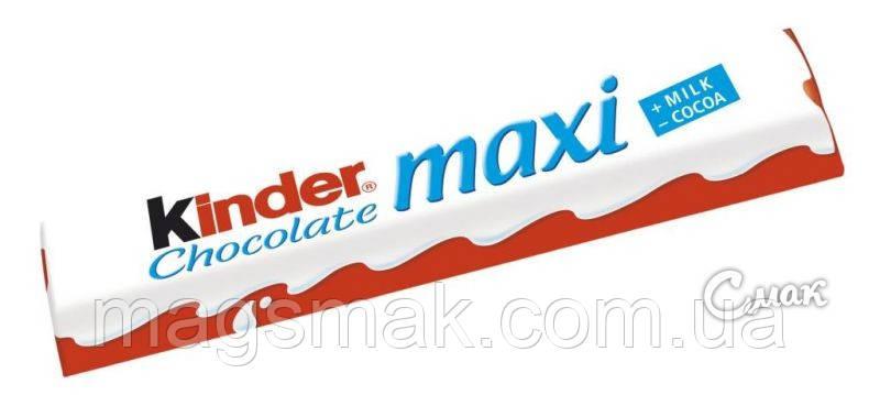 Киндер Шоколад Макси / Kinder Chokolate Maxi,  21 г