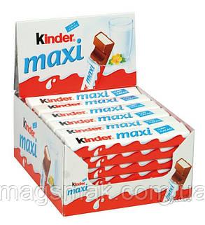 Киндер Шоколад Макси / Kinder Chokolate Maxi,  21 г , фото 2