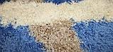 Ковровые дорожки  Shaggy Gold 8018 BLUE, фото 3