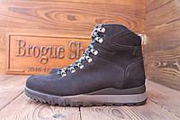 Итальянские мужские зимние ботинки на овчине Florentino (размеры 42, 43).