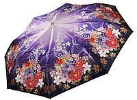 Женский зонт Три Слона  САТИН ( полный автомат ) арт.137-9