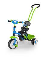 701 Велосипед Boby 2015 с подножкой (синий с зеленым(Blue Green))