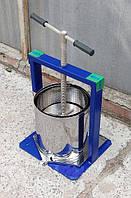 ПрессдлясокаВилен20 литров(Нержавейка, двойной кожух, квадратная рама усиленная уголками)