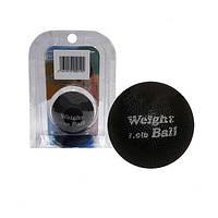 Мяч утяжеленный W-026-1LB 450 г