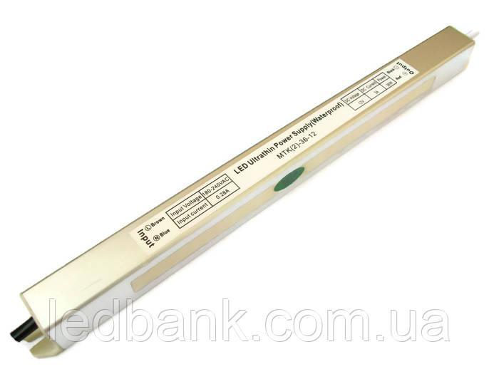 Блок питания герметичный 12В 36 Вт MTK-36-12