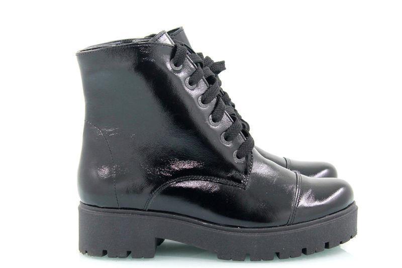 Купить зимние ботинки из кожи