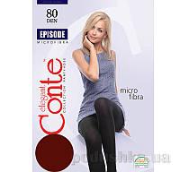 Колготы темно-коричневые плотные Episode 80 Den Conte 8С-40СП Mocca 5