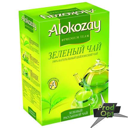 Чай Alokozay зелений 100 г , фото 2