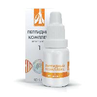 Жидкий пептидный комплекс № 1 для восстановления работы артерий и сердца