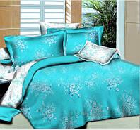 Элементы постельного белья Winter bouquet L-1585-2 SoundSleep поплин наволочки 70х70 см - 2 шт. turquoise